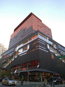 The New School NY on Fifth Avenue, hosting the 2019 Platform Coops conference