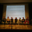 Lisa Pointner in a Town Hall on Cooperation: Best Practices at the
