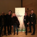 Derick Ongansie (Truckers for Unity), Trebor Scholz (New School), Sabine Kock and Lisa Pointner (Smart Austria) and
