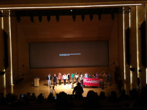 We are all animals, a children's strike at the Platform Coops conference 2019, New School NY