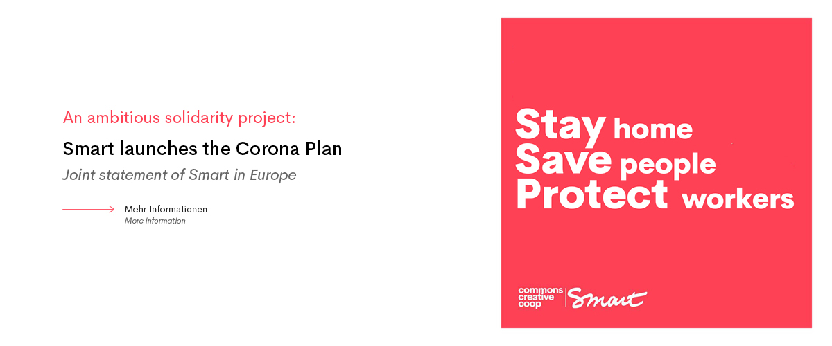 An ambitious solidarity plan: Smart launches the Corona Plan